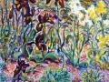 208 - Purple, Yellow & White Irises